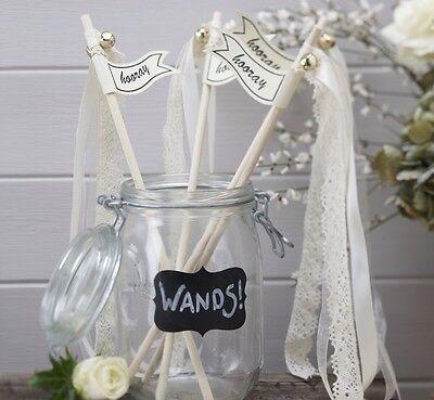 Vintage Wedding Wands (Pack Of 10)