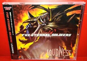 CD-LOUDNESS-ETERNAL-SOLDIERS-JAPAN-LACM-4772-SEALED-SIGILLATO