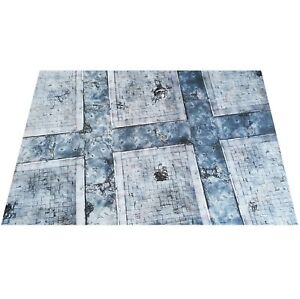 6'x4' Urban Cityscape gaming mat warhammer 40k wh40k imperial guard Space Marine