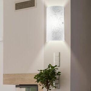 Mur-lampe-chambre-verre-ecran-modele-nuit-lumiere-lecture-couloir-lampe-blanc