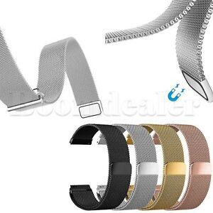 Metall-Milanese-Uhrenarmband-Strap-fuer-Samsung-Gear-2-SM-R380-Gear-2-Neo-SM-R381