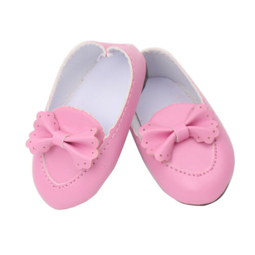 Handmade Leather Shoes sandals Clothes Accessory For 18 inch American Girl Doll