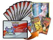 x10 Various XY Pokemon TCGO OnLine Code Karten + 1 Bonus Mew XY110 Code