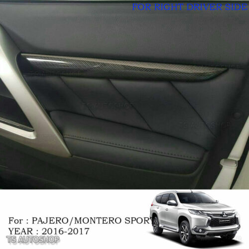Set Wood Console Air Panel Cover For Mitsubishi Montero Pajero Sport 2016 2017