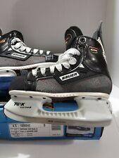 Bauer Supreme 3000 Tuuk Patin Jr. Sz 6d Black White Ice Hockey Skates