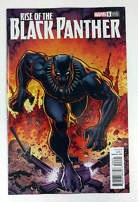 Marvel 2018 NM Rise of the Black Panther #6 Arthur Adams Variant