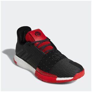 Nuez Restricciones Rusia  Nuevas Adidas Hombre Talla 16 James Harden Vol. 3 Baloncesto Zapatillas  Negro Rojo $140 | eBay
