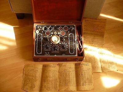 Lampemètre L48A, tube tester, valve, Röhre, état inconnu, non testé
