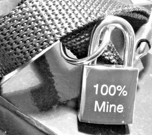 Personalised Engraved Small Square Padlock Silver or Gold Collar Bag Lock Key