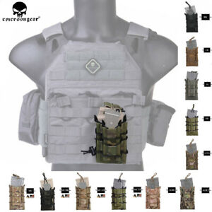 EMERSON-Tactical-5-56-Modular-Rifle-Double-Magazine-Pouch-MOLLE-Pistol-Holder