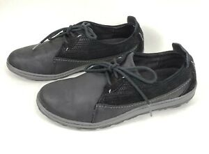 61a96ce788dd MERRELL Ashland Tie US 7.5 M Black Nucuck   Suede Lace Up Walking ...