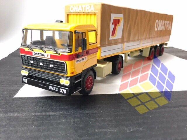 Camion DAF 2800 + Semi Remolque c  Toldo ONATRA (1973-1987) Truck Camions - 1 43