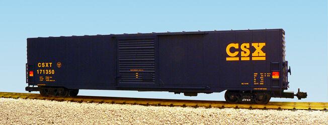 USA Trains G Escala 60 ft SINGLE doble puerta coche de caja R19407A C S X