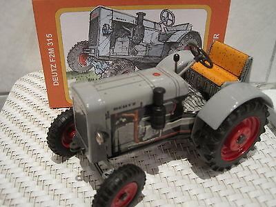 Spielzeug Intellektuell Blechspielzeug Traktor Schlepper Deutz F2m 315 *neu* M Funktion Kaufen Sie Immer Gut