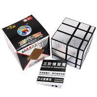 Shengshou Mirror 3x3x3 Sliver Cube Speed Twist Magic Bump Puzzle Toys SMOOTH