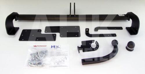 Kpl AHK Fiat Sedici 5-Tür 06-14 Anhängerkupplung starr+ES 13p uni