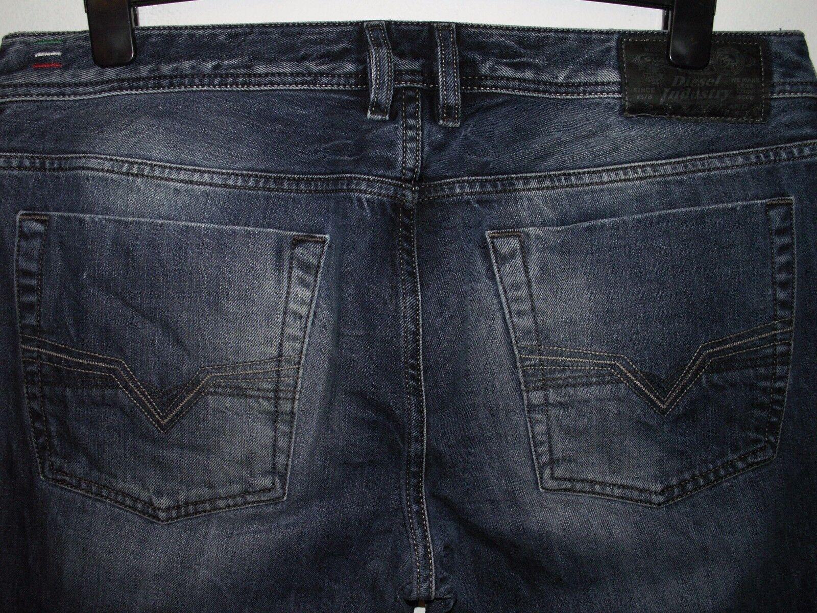 DIESEL Jeans avviocut Zatiny Lavare 008M2 W36 L34 (a2554)