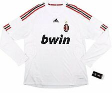 AC Milan 2008-09 *VERY RARE* PLAYER ISSUE L/S Away Jersey(XL) *BRAND NEW W/TAGS*
