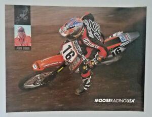 Vintage Poster 2002 John Dowd Moose Racing KTM Motocross Supercross