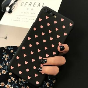 Iphone 6+/6s plus case  (black case with pink heart)