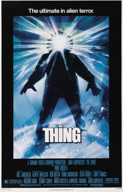 THE THING Movie Poster Horror John Carpenter Alien