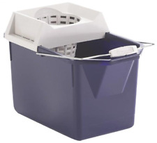 Rubbermaid 619400stl Mop Bucket With Wringer Combo 15 Quart
