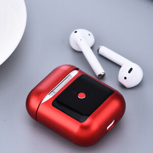 Aluminum Metal Strap Anti-lost Full Earbuds Charging Case