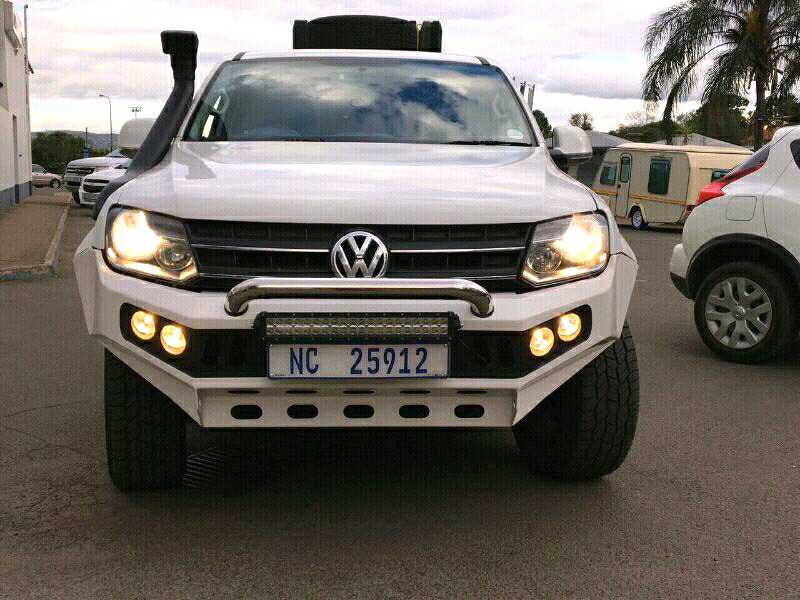 Amarok replacement bumpers