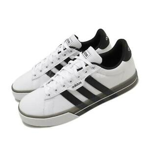 adidas-Daily-3-0-White-Black-Men-Casual-Lifestyle-Shoes-Sneakers-Trainers-FW7049