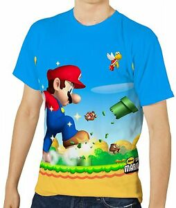 Super-Mario-Bros-Mens-T-Shirt-Tee-Size-S-M-L-XL-2XL-3XL-New