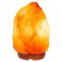 Himalayan Natural Salt Lamp Ionic Air Purifier Crystal Rock Light Tower