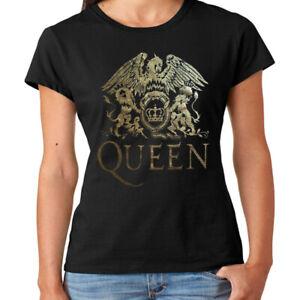 Camiseta chica mujer Queen t shirt women Freddy Mercury hard rock
