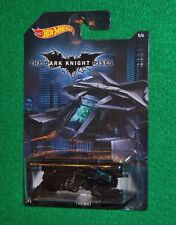 Hotwheels Batman The Dark Knight Rises The Bat 5/6 Walmart Exclusive New NM