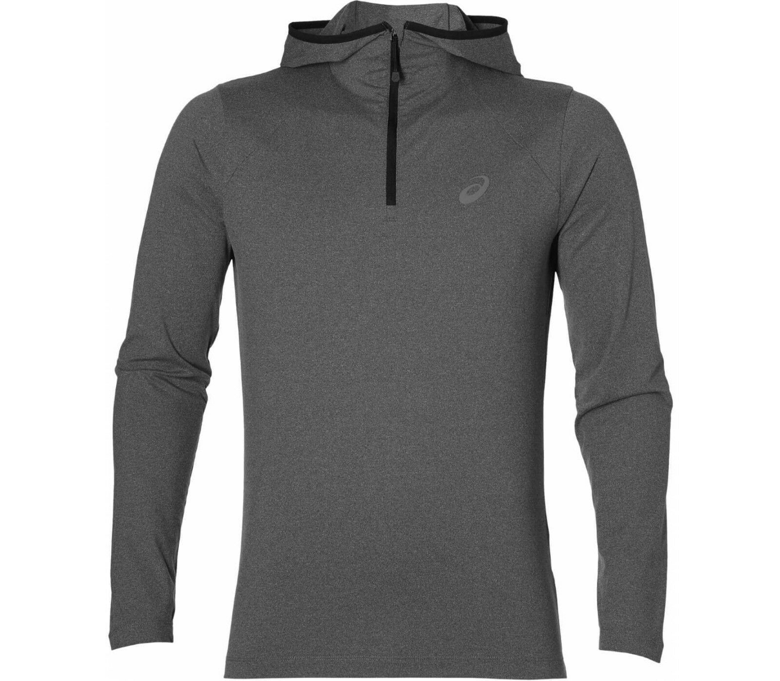 Asics Hoodie Large Grey Long Sleeve  Running Top TD091 CC 05  top brand