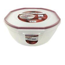 Sterilite 03948604 4.7 qt the Ultra Seal Bowl  Clear