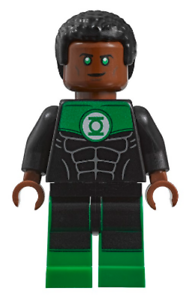 LEGO DC Super Super Super Heroes - Exclusive Green Lantern - John Stewart - Mini Figure 639633