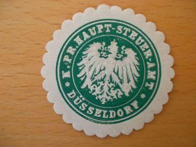 K Haupt-steuer-amt Düsseldorf Warmes Lob Von Kunden Zu Gewinnen 14032 Pr Siegelmarke
