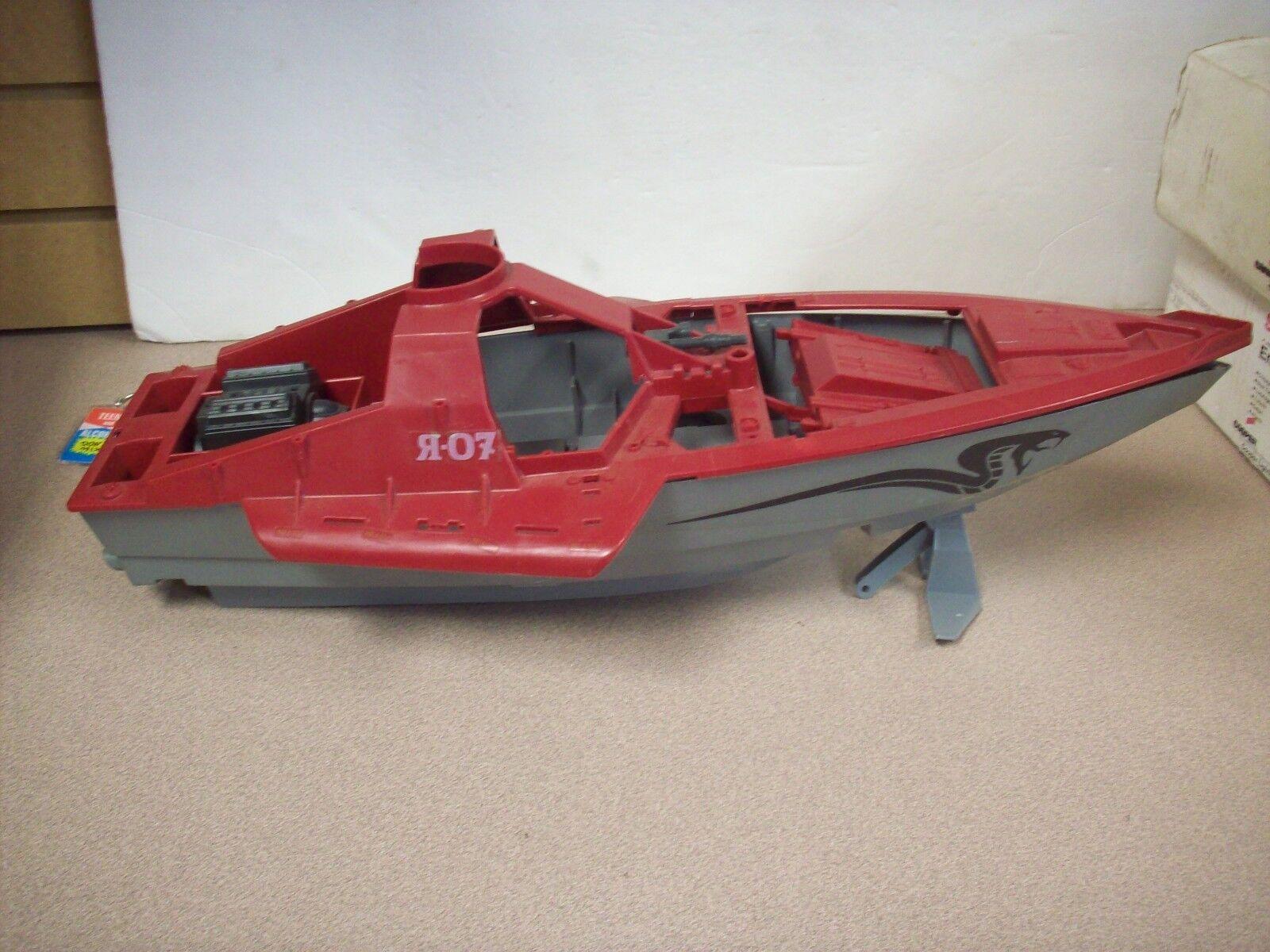 G.I. Joe 1985 Hasbro Real American Hero GI ship.