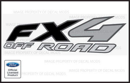 2008 Ford F250 FX4 OffRoad Decals Stickers FB Truck Super Duty Off Road Bed