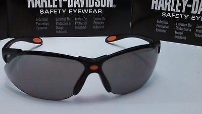 Harley Davidson Sunglasses Road Glide Black Frame Gray Lens Free cord & Wiping C