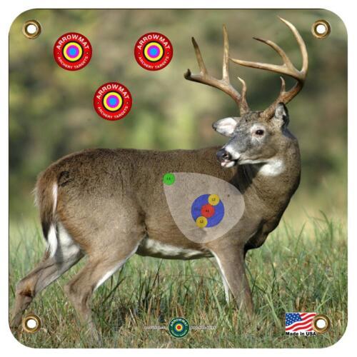 """Arrowmat XL Cible Mousse Visage Big Buck 34/""""x34/"""""""