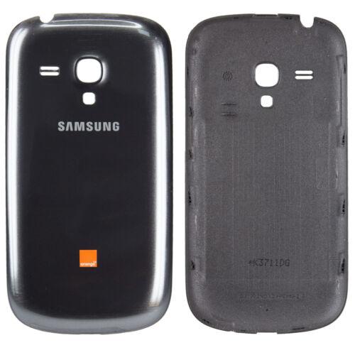 Samsung Galaxy Mini s3 batería Tapa cover cáscara carcasa trasera en gris