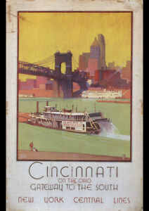 1935-NEW-YORK-CENTRAL-LINES-CINCINNATI-OHIO-VINTAGE-TRAVEL-AD-PRINT-POSTER