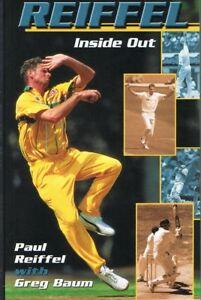 PAUL-REIFFEL-Inside-Out-Cricket-Autobiography-With-Greg-Baum-FREE-POST-Tracking