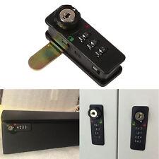 Cabinet 3-Digit Security Code Combination Lock +Key Home Furniture Password Lock