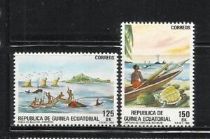 100% De Qualité Guinea Ecuatorial. Año: 1984. Tema: Pesca Artesanal.