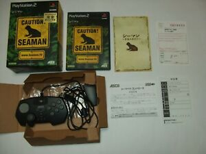 Seaman-Microphone-Controller-Bundle-Boxed-Sony-PlayStation-2-PS2-Japan-import