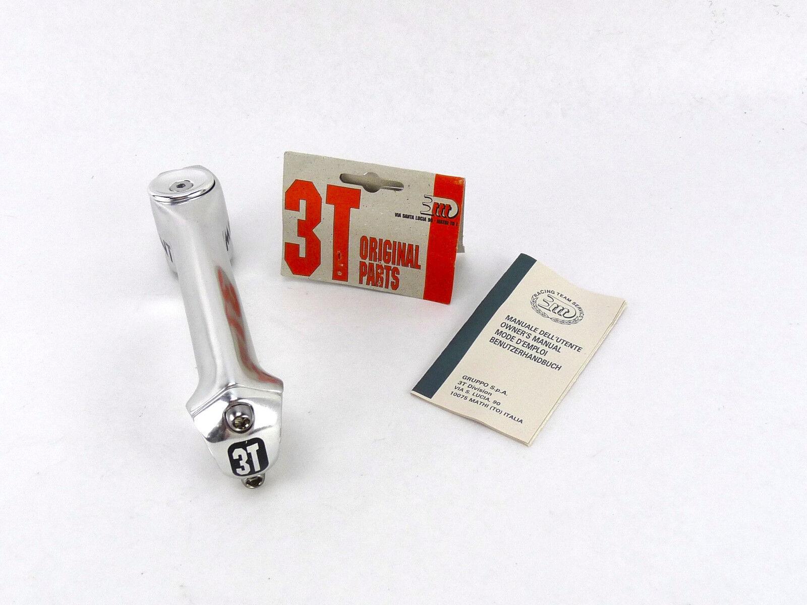 3T mutante vástago 11-1 8  por delante 140mm 3ttt Vintage Bike Threadless 26.0 Plata nos