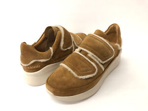 68c359a3eab Details about UGG ASHBY SPILL SEAM WOMEN SNEAKER SUEDE CHESTNUT US 11 /UK 9  /EU 42