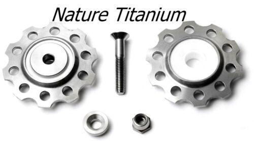 ROHLOFF 2 jockeys in Titanium /& Ceramic bearing for Rohloff Chain Tender Only